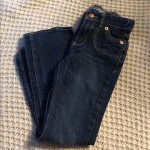 Size 6X slim girls levis jeans